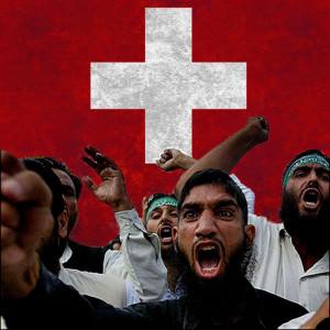 swiss-muslims  Les Musulmans Veulent que la Suisse Change son Drapeau swiss muslims 300x300