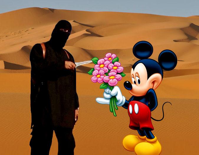 mickey-join-isis  Mickey Mouse Doit Être Éxécuté selon les Autorités Islamiques mickey join isis