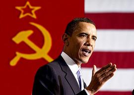 """Obama-Communist-SC  Obama: """"Si Vous avez une 'Business' ce n'est pas Vous qui l'Avez Construite"""" Obama Communist SC"""