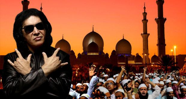 Gene Simmons Insulte les Musulmans gene simmons slams muslims 620x330