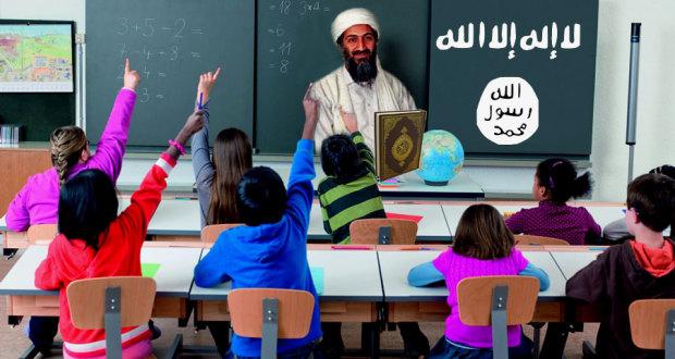 Parents Outré après que leur Fils a été Forcé à Réciter «Tous le Monde doit se Soumettre à Allah» à l'École islam schools screwjob 1 620x330