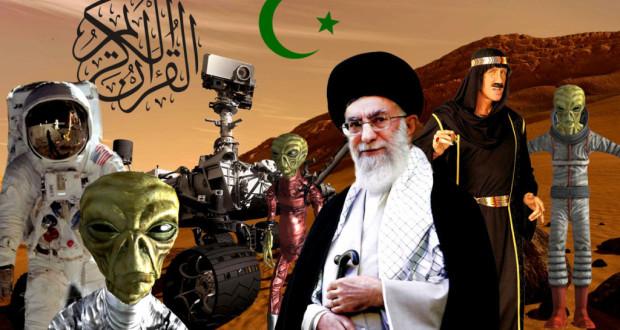 Les Autorités Islamiques Émettent un Fatwa contre la Planète Mars islam on mars 1024x640 620x330