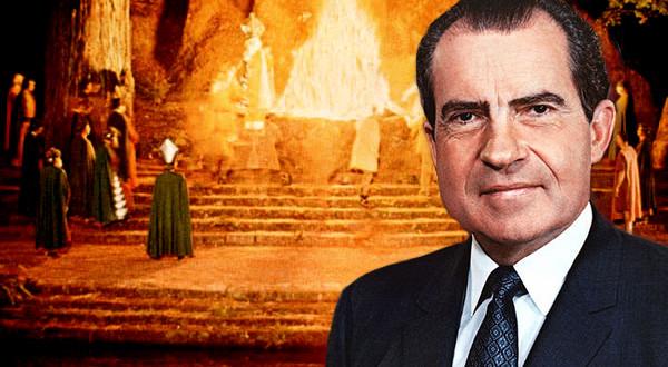 Richard Nixon Nous Parle du Bohemian Grove nixxon bohemian groove 600x330