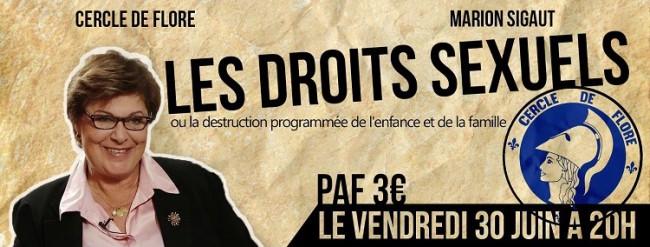 sigaut-30juin2017  Les Droits Sexuels ou la Destruction Programmée de l'Enfance et de la Famille – Conférence de Marion Sigaut à Paris sigaut 30juin2017